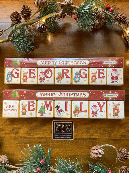 Personalised Chocolate Names (Up to 7 letters)