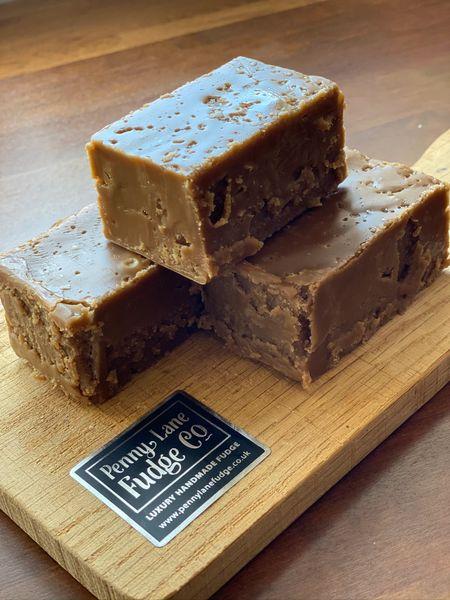 Vegan / Dairy Free Sea Salt Caramel Fudge (Contains Almond Milk, Gluten Free)