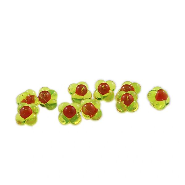 Embryo Egg Clusters: Chartreuse with Red Dot
