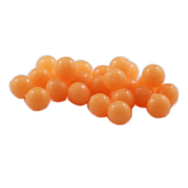 Glow Soft Beads: Fuzzy Peach (Dead Egg)