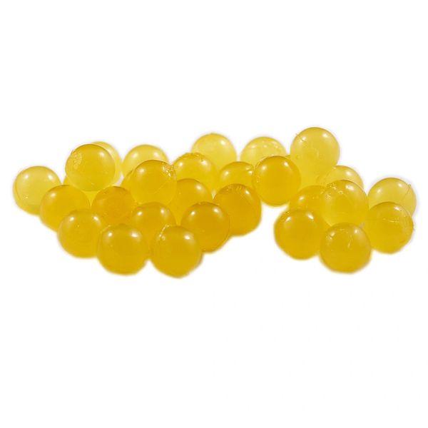 Soft Beads: Yellow Mustard.