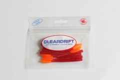Ultra-Light Steelhead Worms: Red/Orange Tail