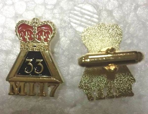 2017 USC N Class Pin & Cuff Set