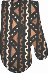Mudcloth Designed Oven Mitts
