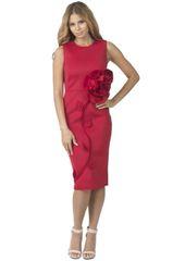 Floral Patchwork Scuba Dress