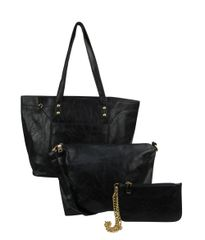 3-in-1 Tote Purse with removable Wristlet