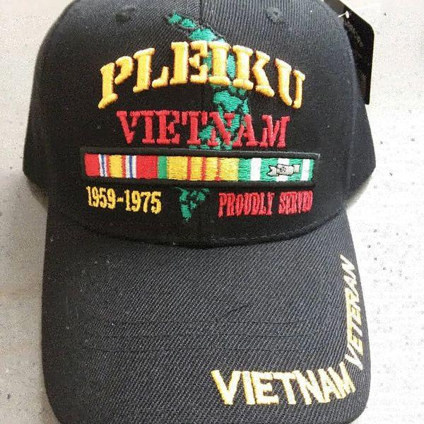 Vietnam Veteran Location Caps