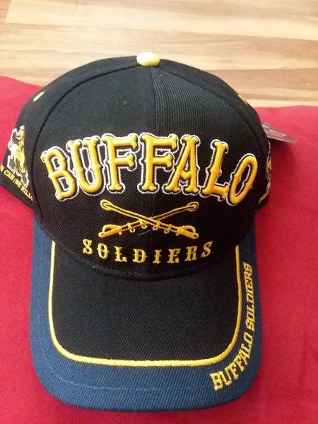 Buffalo Soldier & Tuskegee Caps