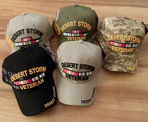 Operation Desert Storm Military Caps