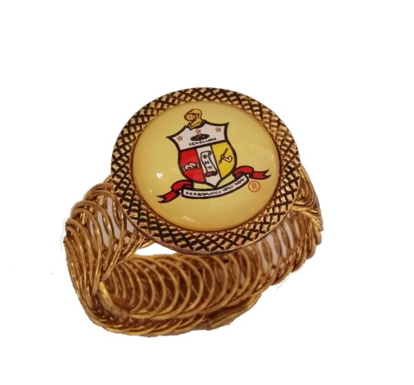 Greek Men's Cuff Bracelets Omega & Kappa