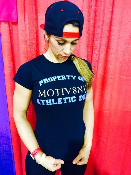 Property of Motiv8nU Athletic Dept -