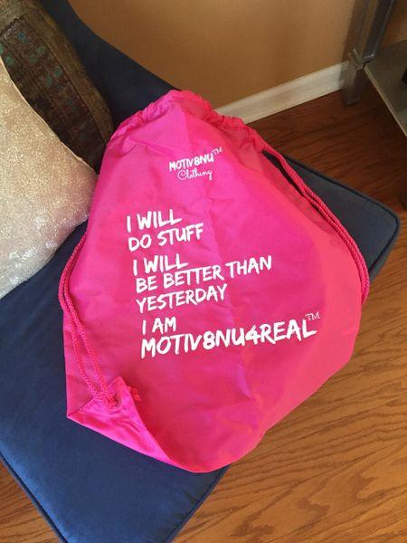 Motiv8nU Cinch Bag