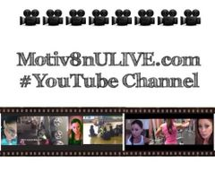 Motiv8nU LIVE #YouTube channel subscription