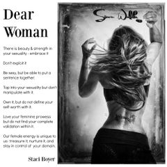 Dear Woman Respect yourself