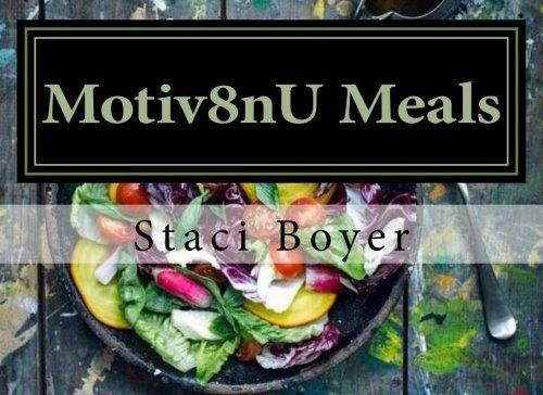Motiv8nU Meals - Recipe book