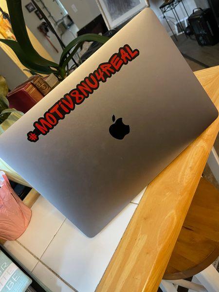 #Motiv8nu4real Die Cut Stickers