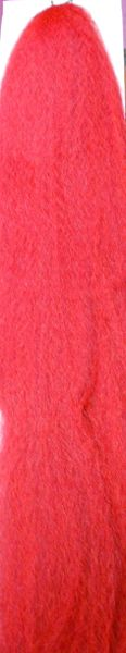 special light red 130a 100% kanekalon braid hair dreadlock dread lock doll reroot paty stage play