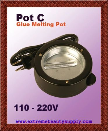 eve fusion keratin glue piece grain melting hot pot