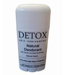 All Natural Deodorant with Dead Sea Salt Minerals and Probiotics
