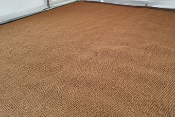 Marquee Coir matting for hire