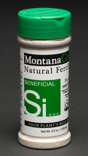 MontanaGrow Natural Fertilizer 5.5 Oz Jar with Shaker Lid