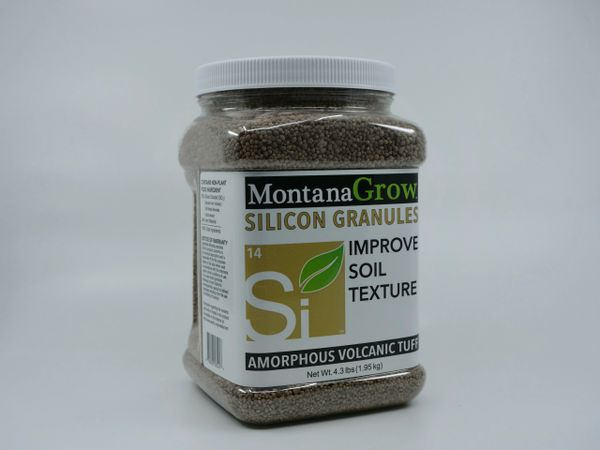 MontanaGrow Silicon Granules 5 lb Gripper Jug