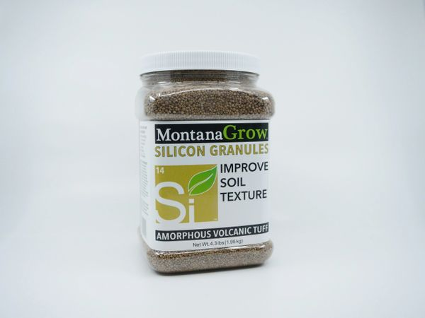 MontanaGrow Silicon Granules - 5 lb. gripper jug