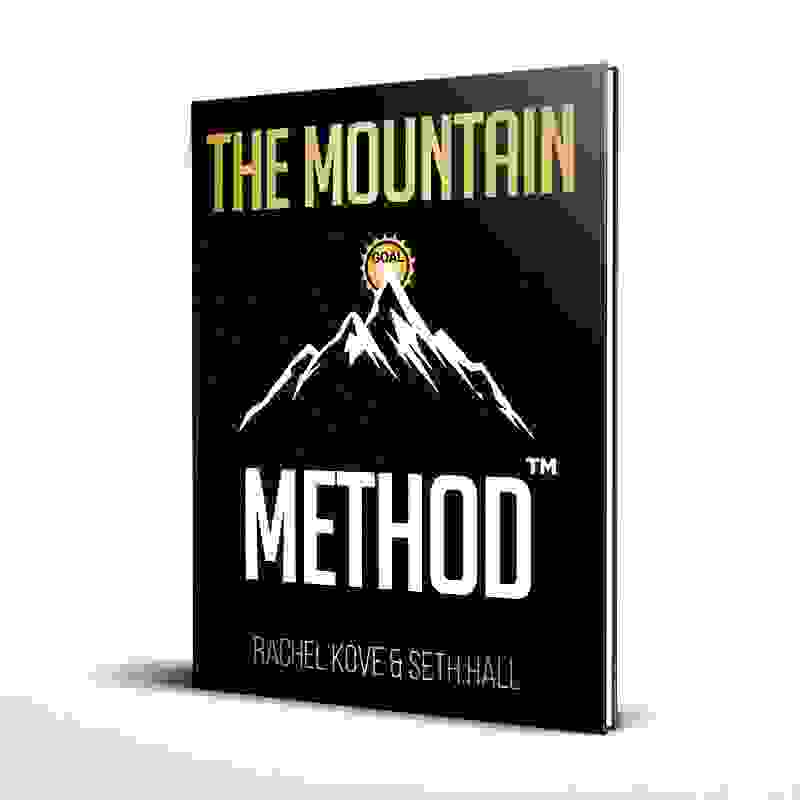 Photo of The Mountain Method Workbook by Transformational Solutions. Life coach Los Angeles