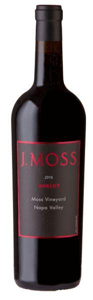 2016 Merlot, Moss Vineyard