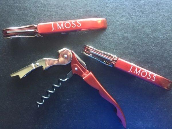 J. Moss Wine Opener (each)