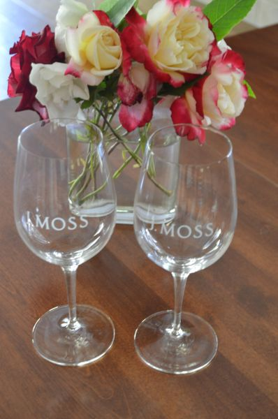 J. Moss Wine Glasses (each)
