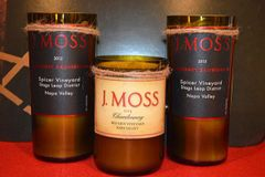 J Moss Candle