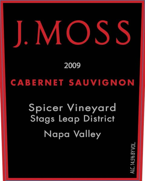 2009 Spicer Vineyard, Stags Leap Cabernet Sauvignon (Library Wine)