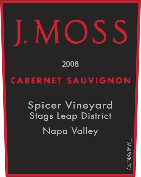 2008 Spicer Vineyard, Stags Leap Cabernet Sauvignon, (Library wine)