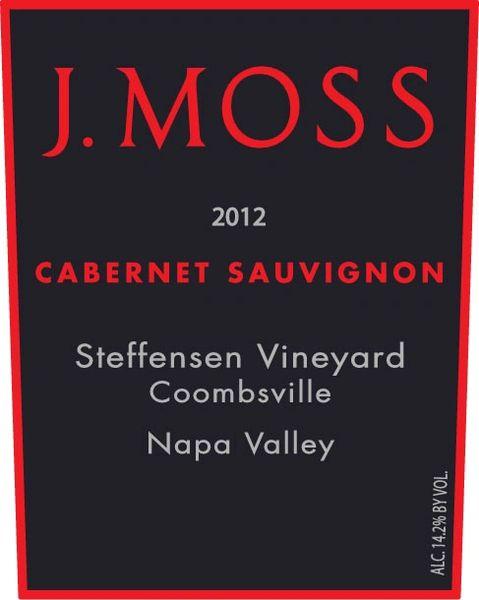 2012 Cabernet Sauvignon, Steffensen Vineyard, Coombsville (Library Wine)