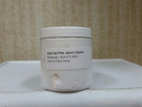 Body Butter/Heavy Cream