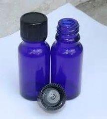 1/2 Oz Cobalt Blue Bottles