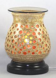 Pottery Wood Oil Burner