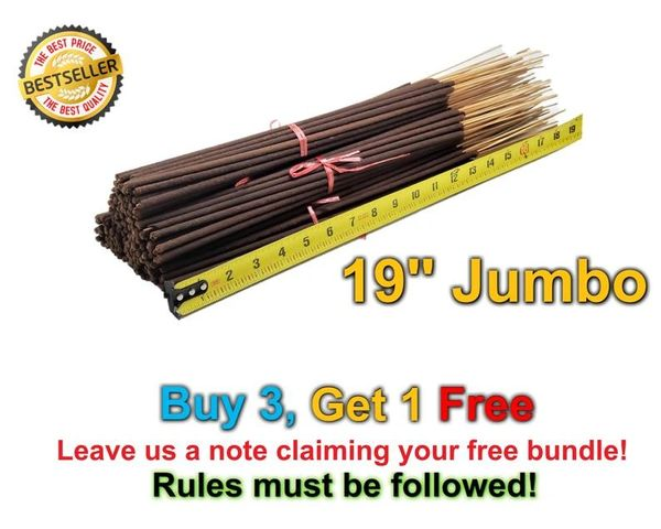 19 Inch Incense Bundle