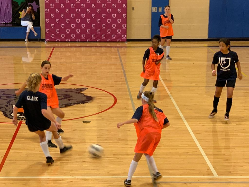 Winter and summer indoor futsal leagues help our girls players develop technical skills more rapidly