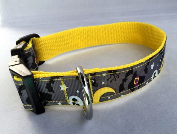 Halloween Dog Collar Handmade