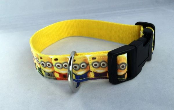 Minion Style 2 Handmade Dog Collar