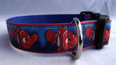 Finding Nemo Dog Collar Handmade