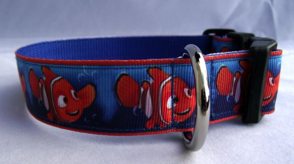 Finding Nemo Dog Collar Handmade