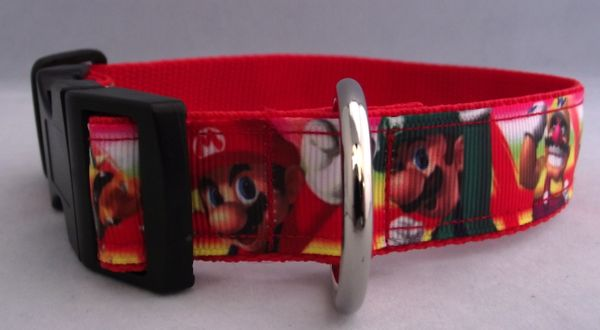 Super Mario Dog Collar Handmade