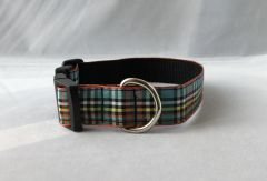 Anderson Tartan Handmade Dog Collar Plaid