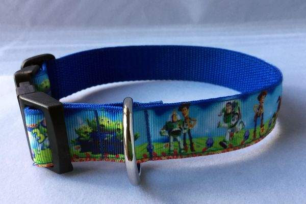 Toy Story Handmade Dog Collar