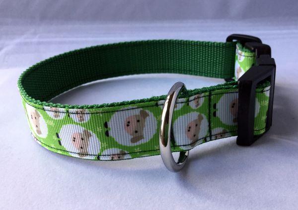 Sheep Handmade Dog Collar