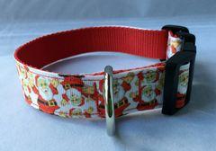 Santa Handmade Dog Collar Style 2