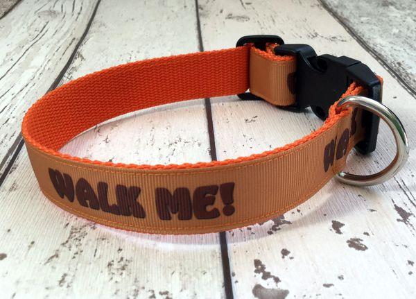Walk Me Handmade Dog Collar